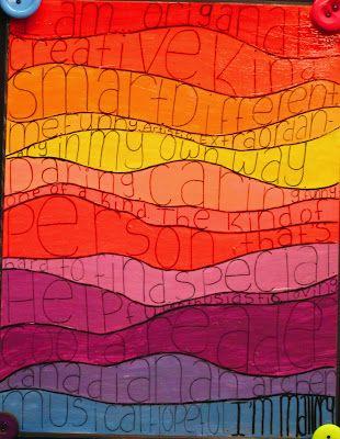 Friday Art Feature I Am Grade 7 Art Ideas Art Smart Art