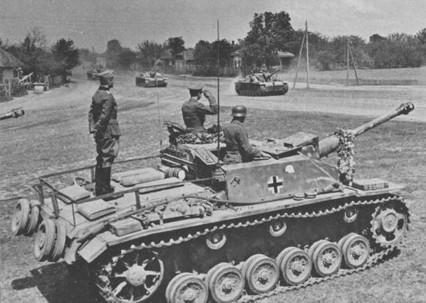 StuG III of Großdeutschland Division