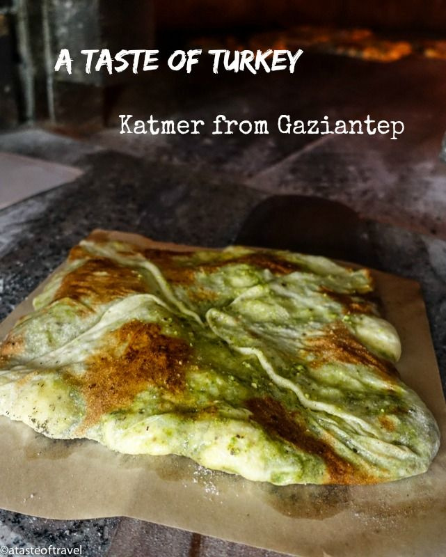 A Taste Of Turkey Katmer From Gaziantep With Images Gaziantep
