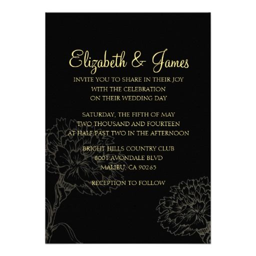 ReviewCustom Modern Black and Gold Wedding Invitations CardThis site is will advise you where to buy