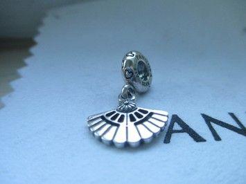 af147f7af PANDORA Sterling Silver Spanish Fan Dangle 791110 Charm | Pandora ...