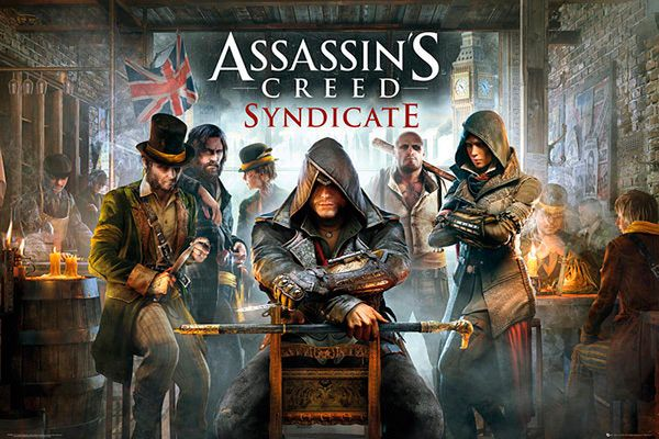 Póster Assassin's Creed: Syndicate. Pub  Póster con la imagen de la portada del nuevo videojuego de Assassin's Creed: Syndicate.