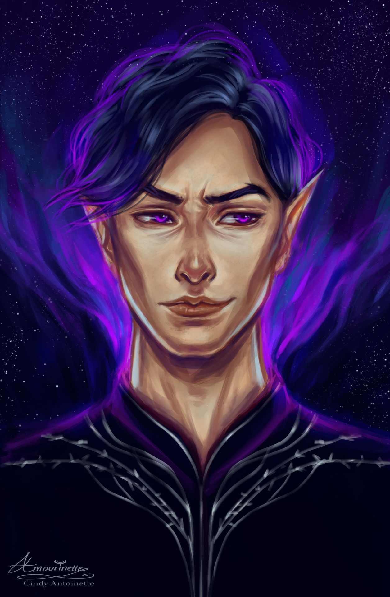 Rhysand By Amourinette High Lord Of The Night Court Acotar