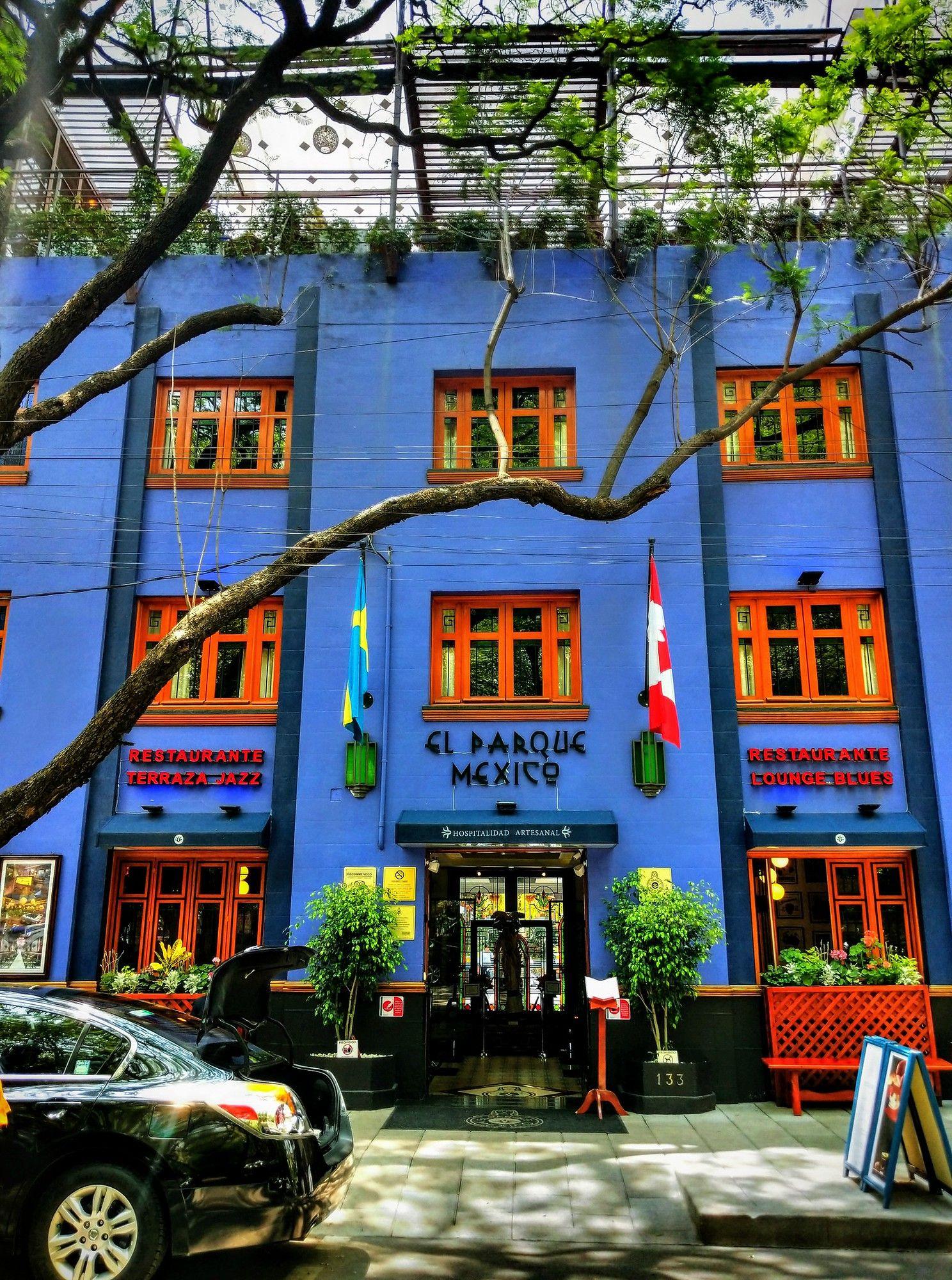 El Parque Mexico Hotel In La Condesa Mexico City Mexico
