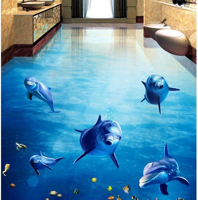 Pin By Erjona Bega On Decor Floor Floor Wallpaper Waterproof