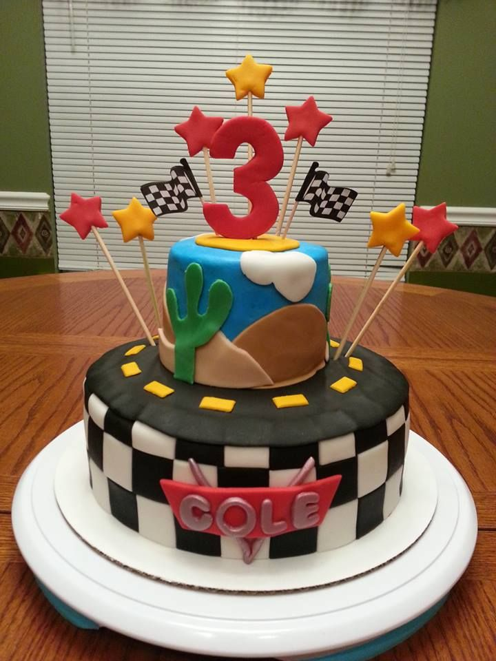 Stupendous Cars Theme 3Rd Birthday Boy Cake With Images Boy Birthday Cake Personalised Birthday Cards Beptaeletsinfo