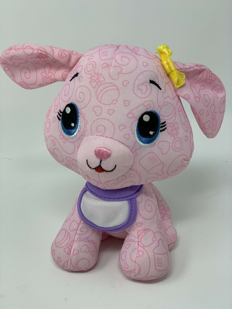 Details About Fisher Price Doodle Bear Babies Pink Puppy Washable