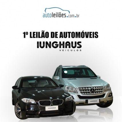 1º LEILÃO DE AUTOMÓVEIS IUNGHAUS. http://autoleiloes.com.br/default.asp #Leilão Online dia 22/04/15 a partir das 14h. Imperdível!!  Repasse aos amigos!
