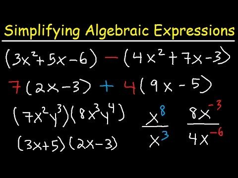 5 Simplifying Algebraic Expressions With Parentheses Amp Variables Combining Like Terms Algebra Like Terms Algebraic Expressions Doctors Note Template