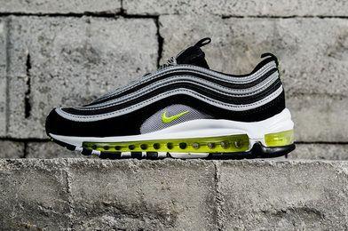 cheap for discount 45883 4455d Nike Air Max 97 Og Black Volt 921826004 Original Sneaker