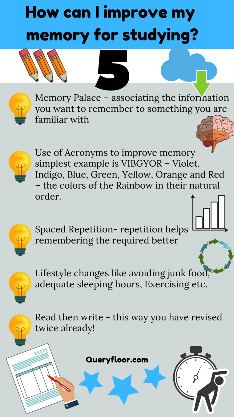 how to improve your memory while studying