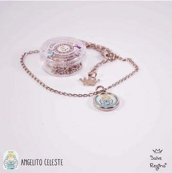 ddb3b61d3f57 conjunto cadena y medalla chica xfis angel de la guarda | Joyas ...