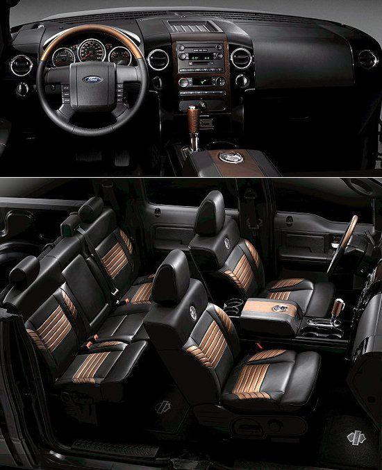 Harley Davidson F150 Interior : harley, davidson, interior, Truck, Trucks,, Interior,, Pickup, Trucks