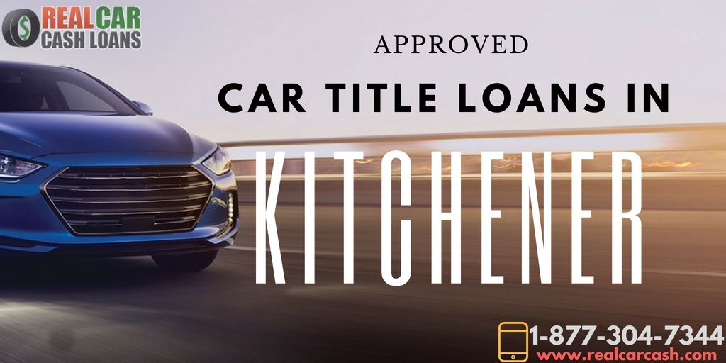 Instant Car Title Loans kitchener The borrowers, Car