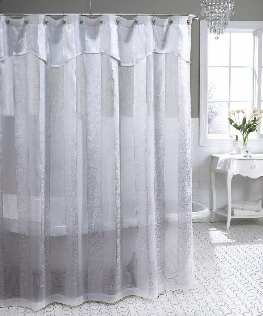 11 Amazing Ideas How To Build Luxury Shower Curtains With Valance