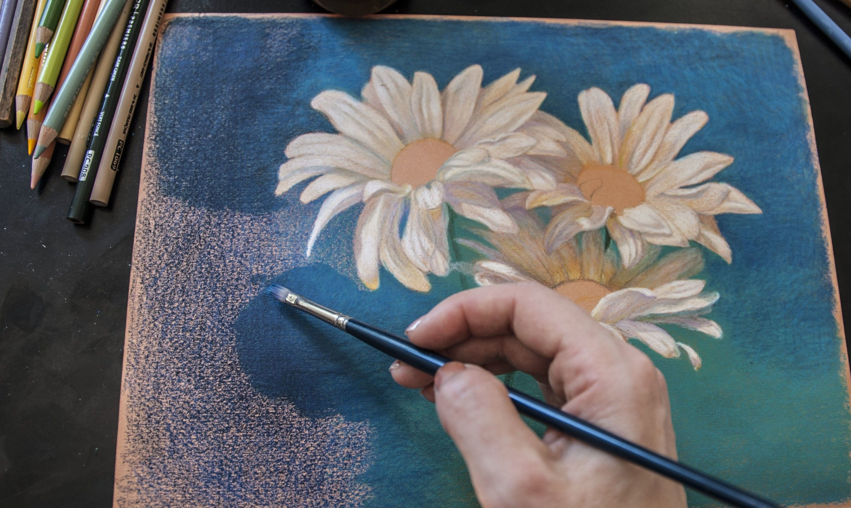Blend Your Way To Smooth Colored Pencils