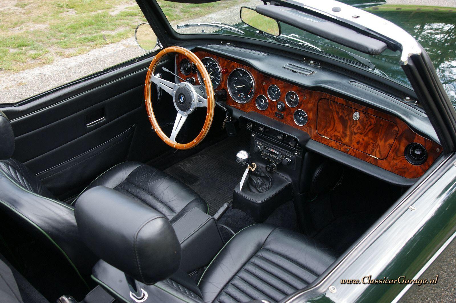 Resultado De Imagen De Triumph Tr6 Interior Mini Interior Cars