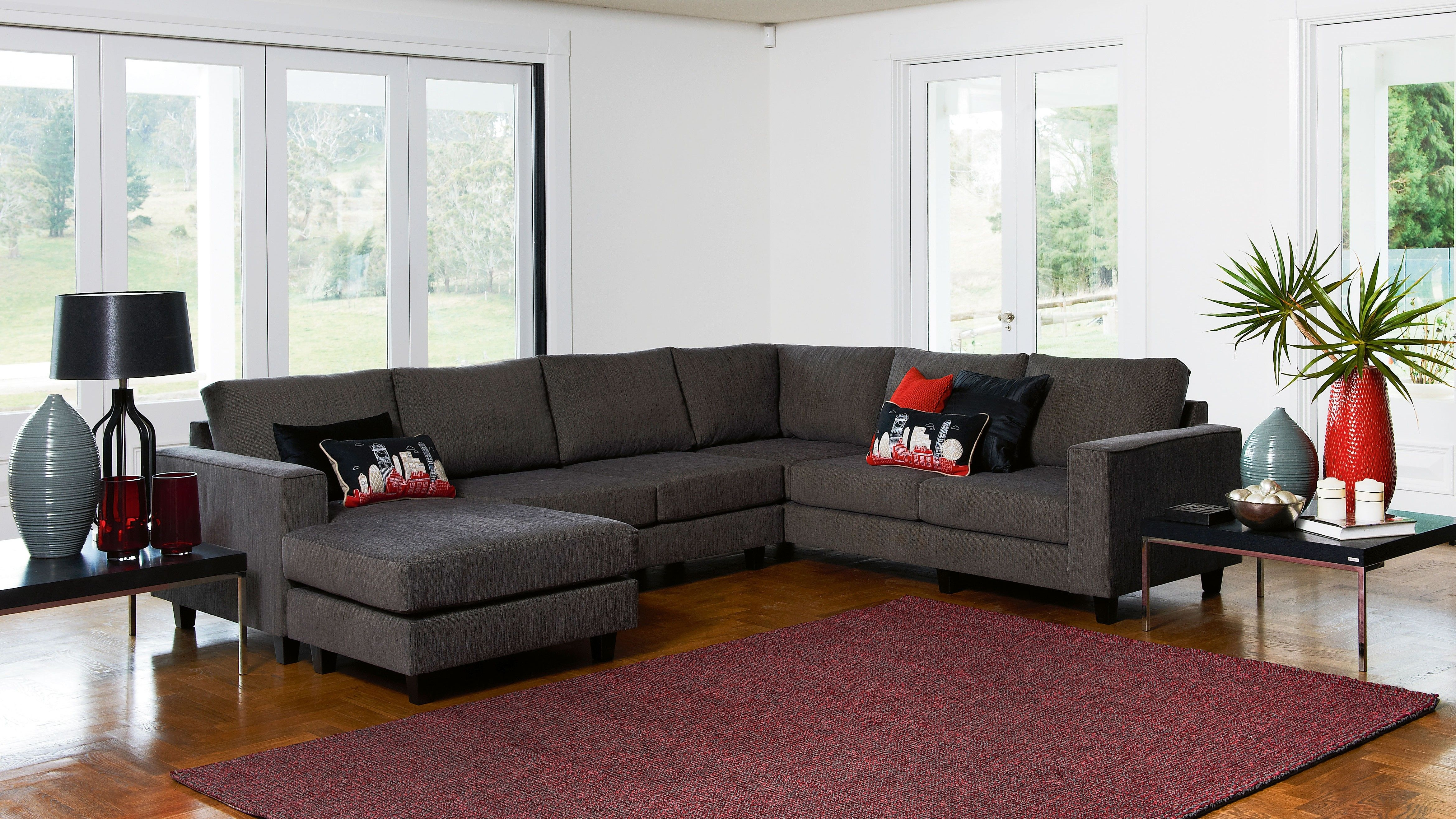 Yarra Corner Modular Lounge Suite with Chaise My new lounge is