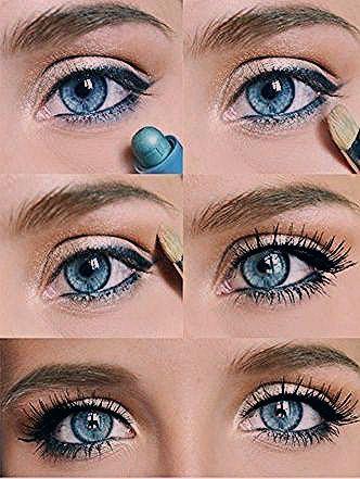 Photo of 12 wunderschöne blaue und goldene Augen Makeup Looks und Tutorials – Frisur 2019
