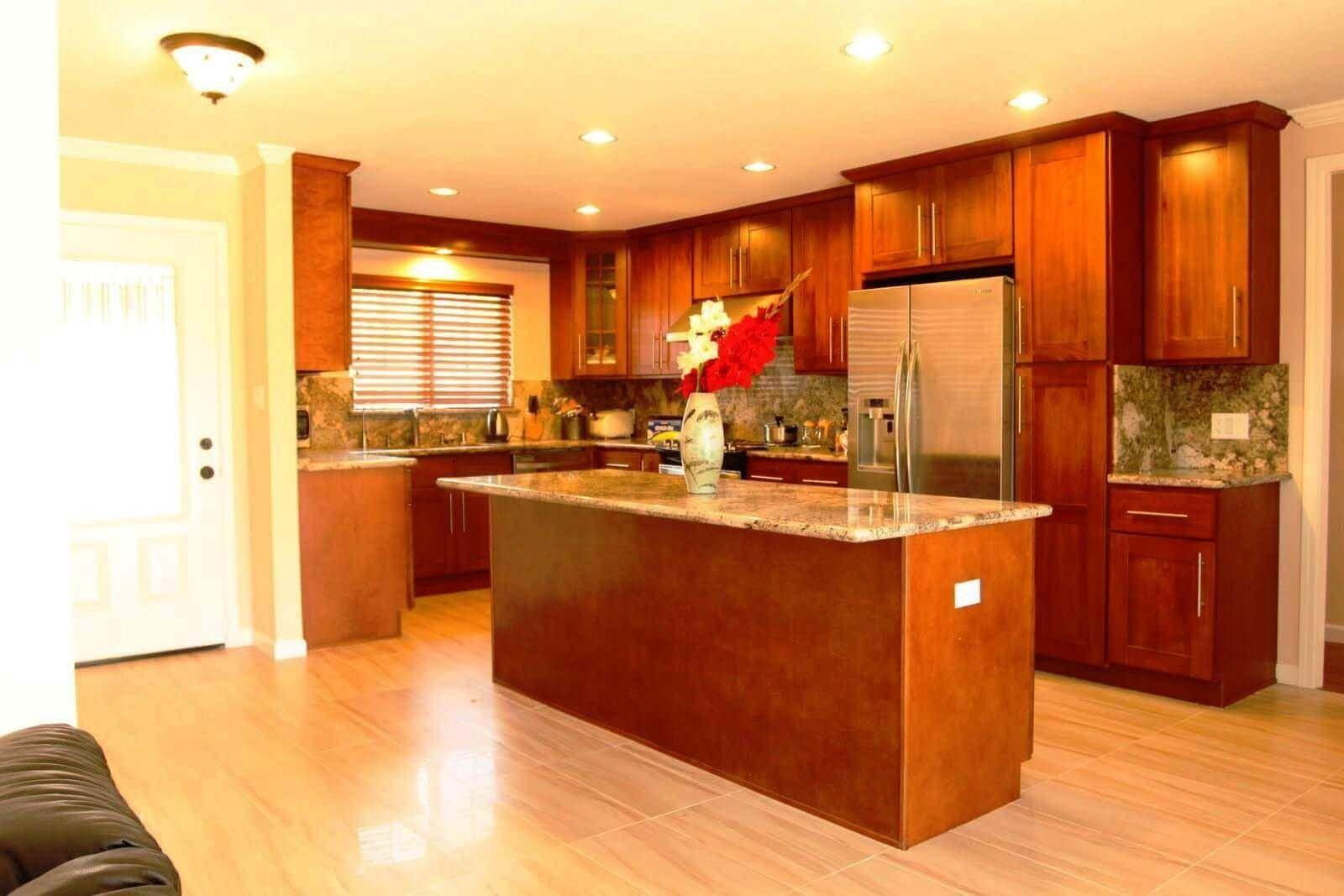 Kirsche Holz Küche Schränke Schlafzimmer Dekorieren Ideen