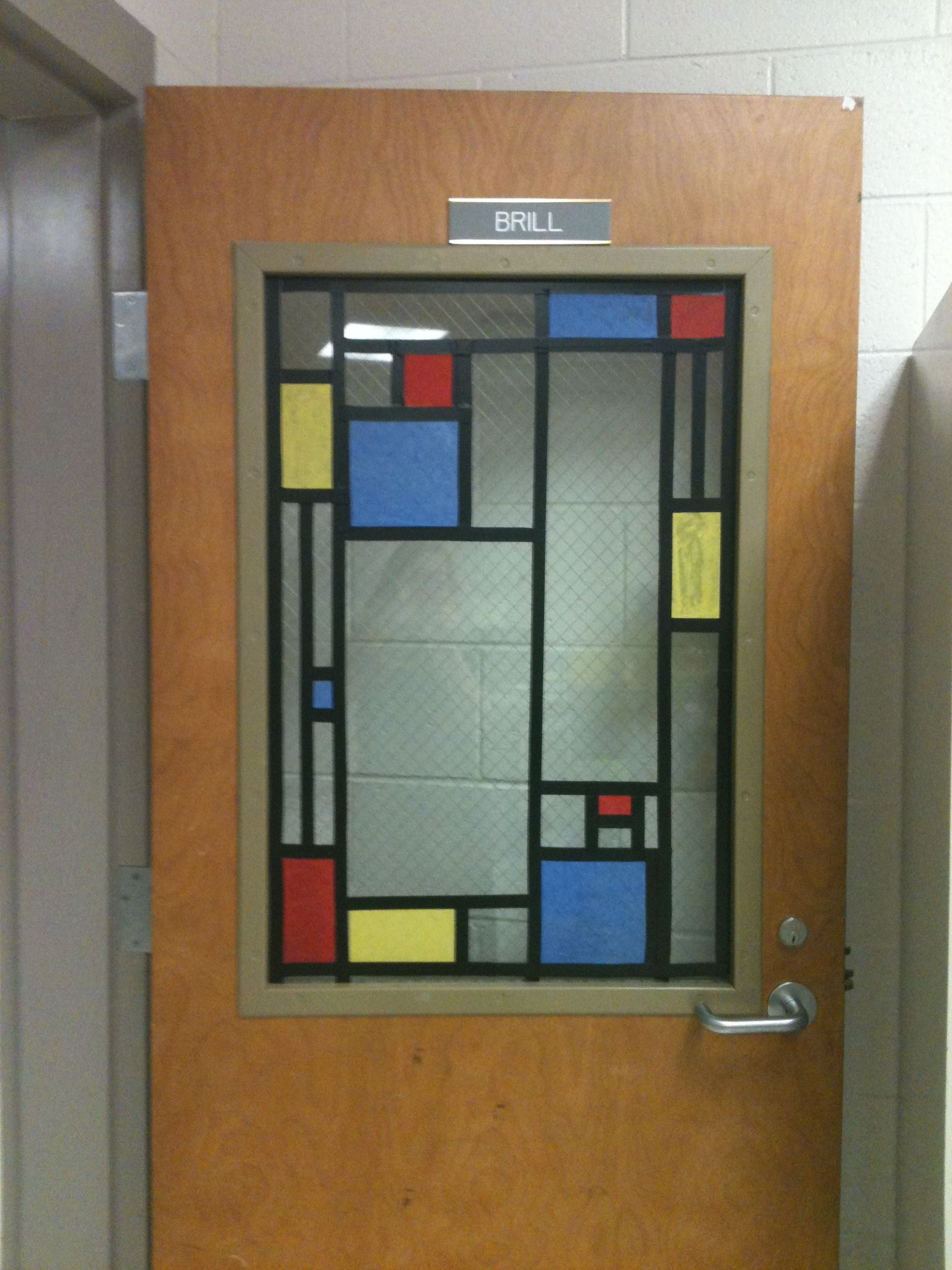 Classroom door window - Gotta Do This To The Art Room Door This Year Tissue Paper On Laminate Of Artworks For Classroom Windows