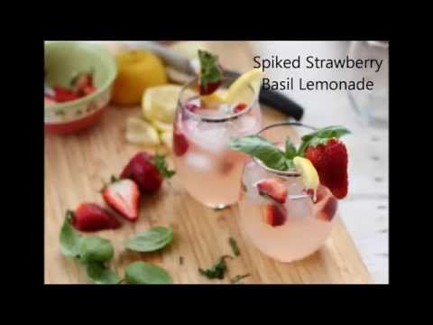 A summertime favorite! Strawberry Basil Lemonade is sure to cool you off and help you relax. Make a batch spiked or non-alcoholic with friends. #basillemonade A summertime favorite! Strawberry Basil Lemonade is sure to cool you off and help you relax. Make a batch spiked or non-alcoholic with friends. #basillemonade