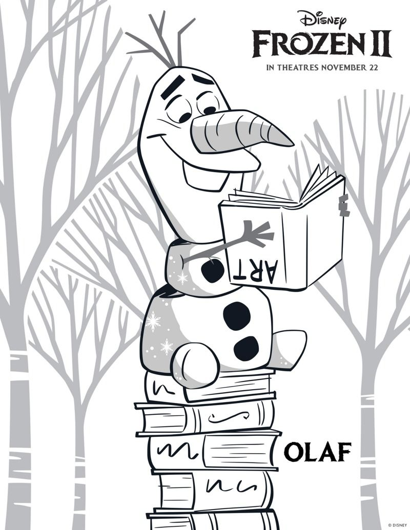 Free Printable Disney Frozen 2 Olaf Coloring Page Olaf Disney Frozen Frozen2 Coloringpage Freep Elsa Coloring Pages Frozen Coloring Disney Coloring Pages