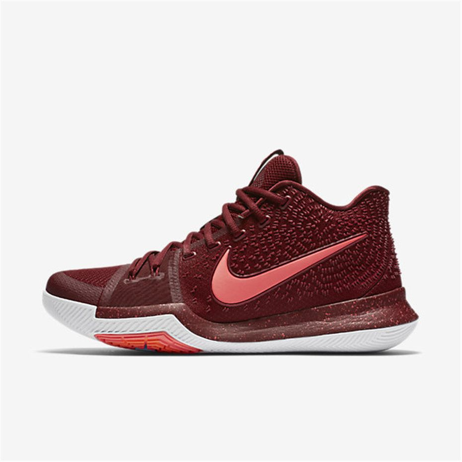 Nike Kyrie 3 Men's Basketball Shoes Team Red/White/Pink Blast/Hot Punch