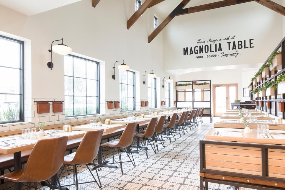 A Delicious Fixer Upper Chip And Jos Magnolia Table Restaurant - Magnolia table restaurant