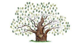 Un arbre à empreintes pour mon mariage !