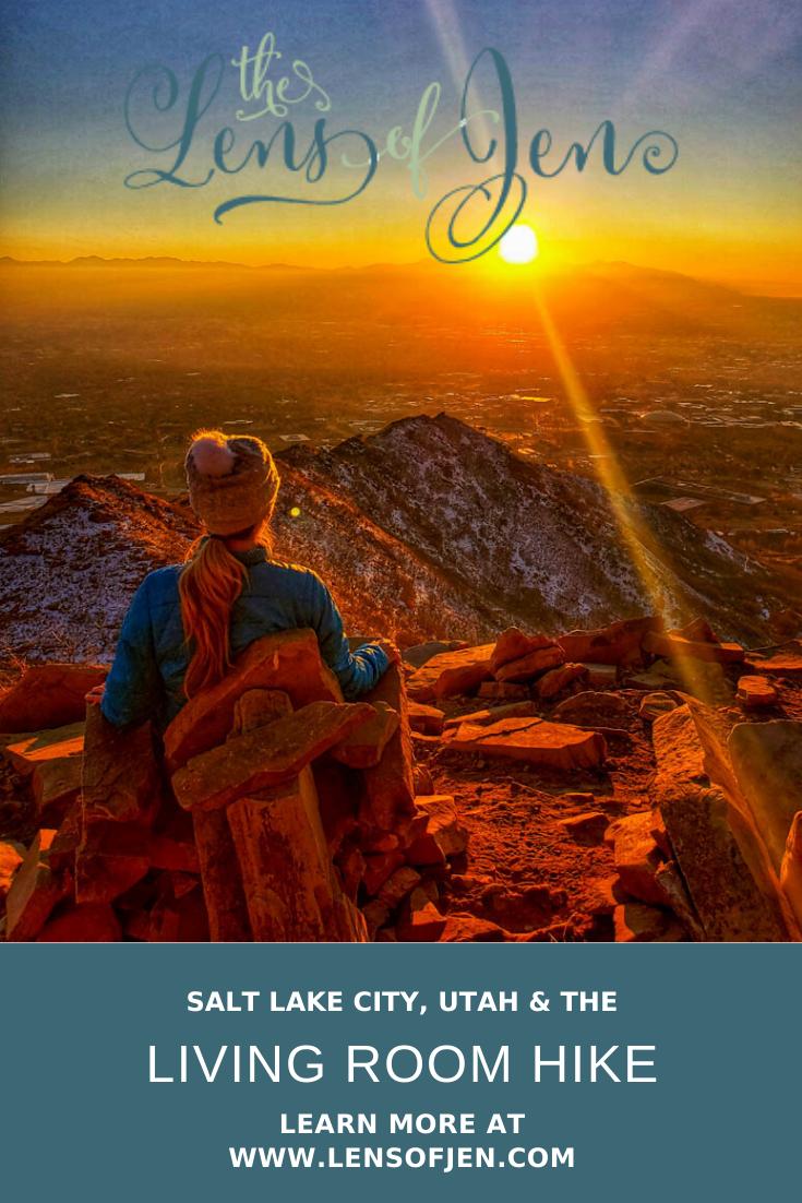 The Living Room Hike In Salt Lake City Sunset City Park City Utah Salt Lake City Utah