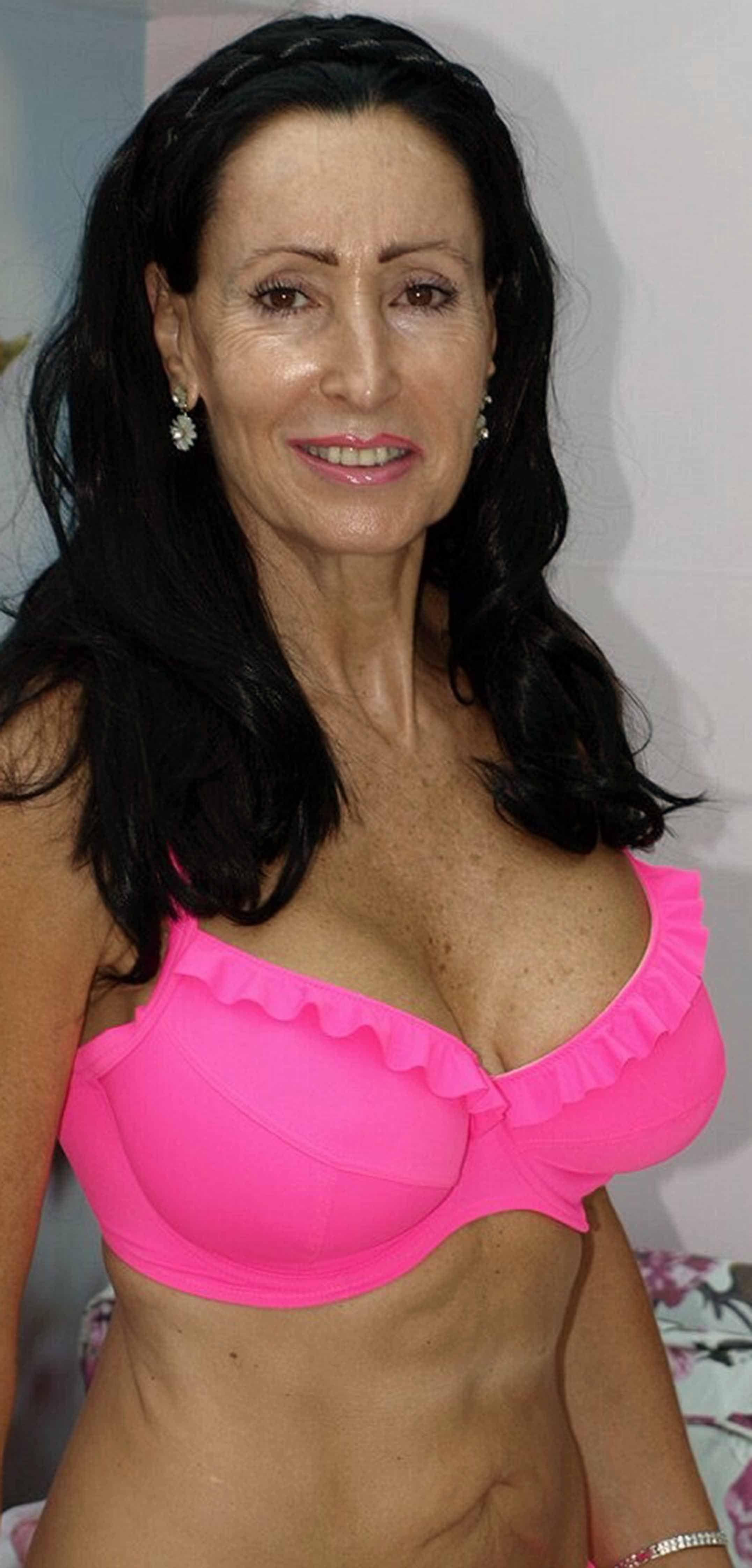 Perfect fake boobs nude