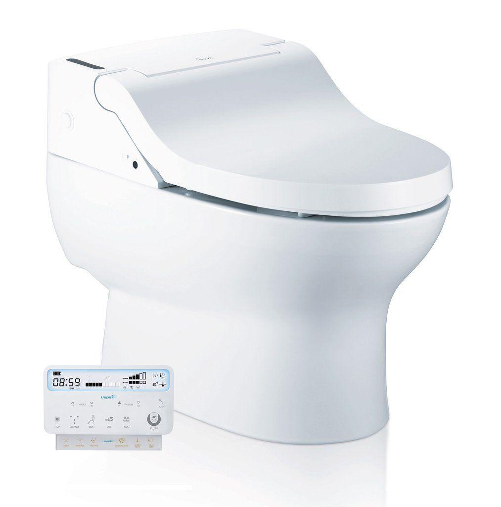 Xime Electric Bidet Toilet With Images Bidet Toilet Combo