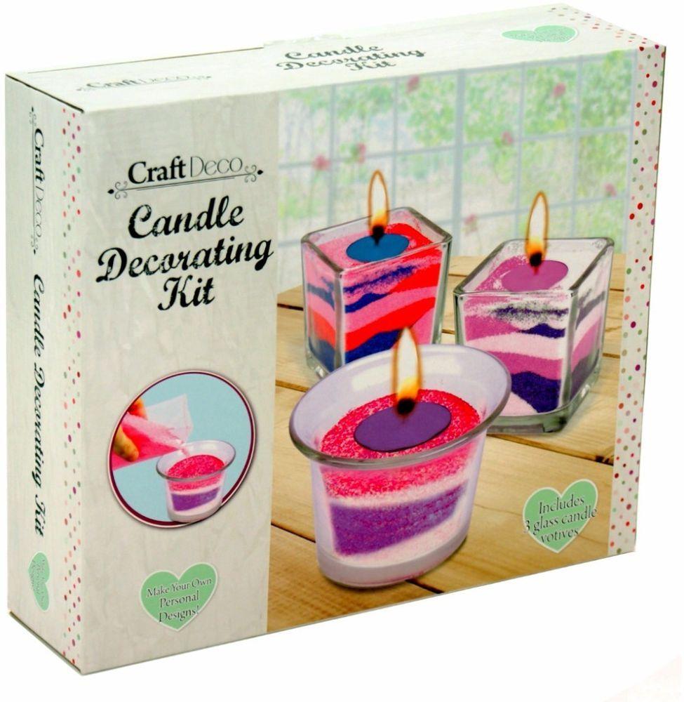 Sand Candle Decorating Kit Unique Candle Making Jar