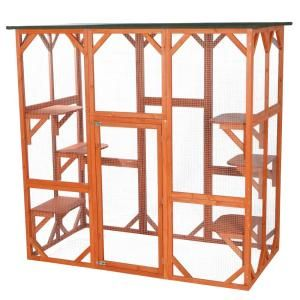 Gronomics 48 in. x 95 in. x 19 in. Raised Garden Bed with 95 in. W x 80 in. H Trellis Kit, Western Red Cedar Unfinished