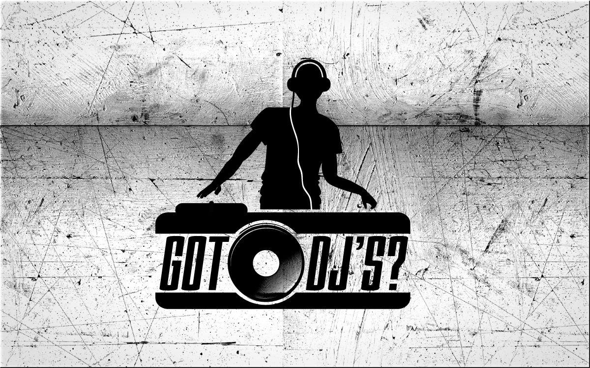 DJ Music Logo Dj logo, Music logo, Picture logo