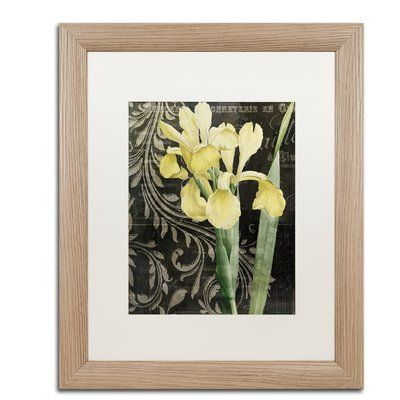 """Trademark Global 'Ode to Yellow' by Color Bakery Framed Graphic Art Size: 20"""" H x 16"""" W x 0.5"""" D"""