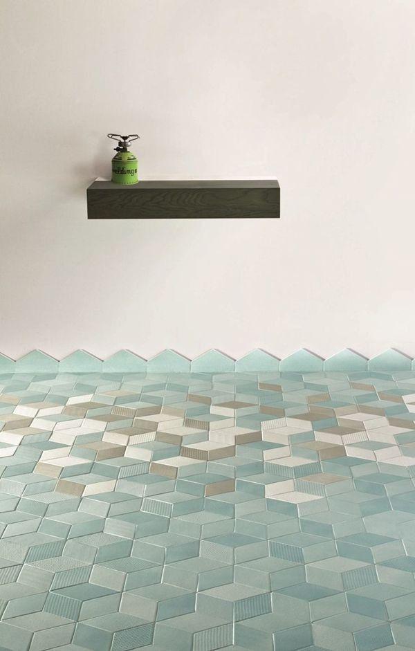 Kleur in de badkamer - THESTYLEBOX | Badkamer tegels | Pinterest ...
