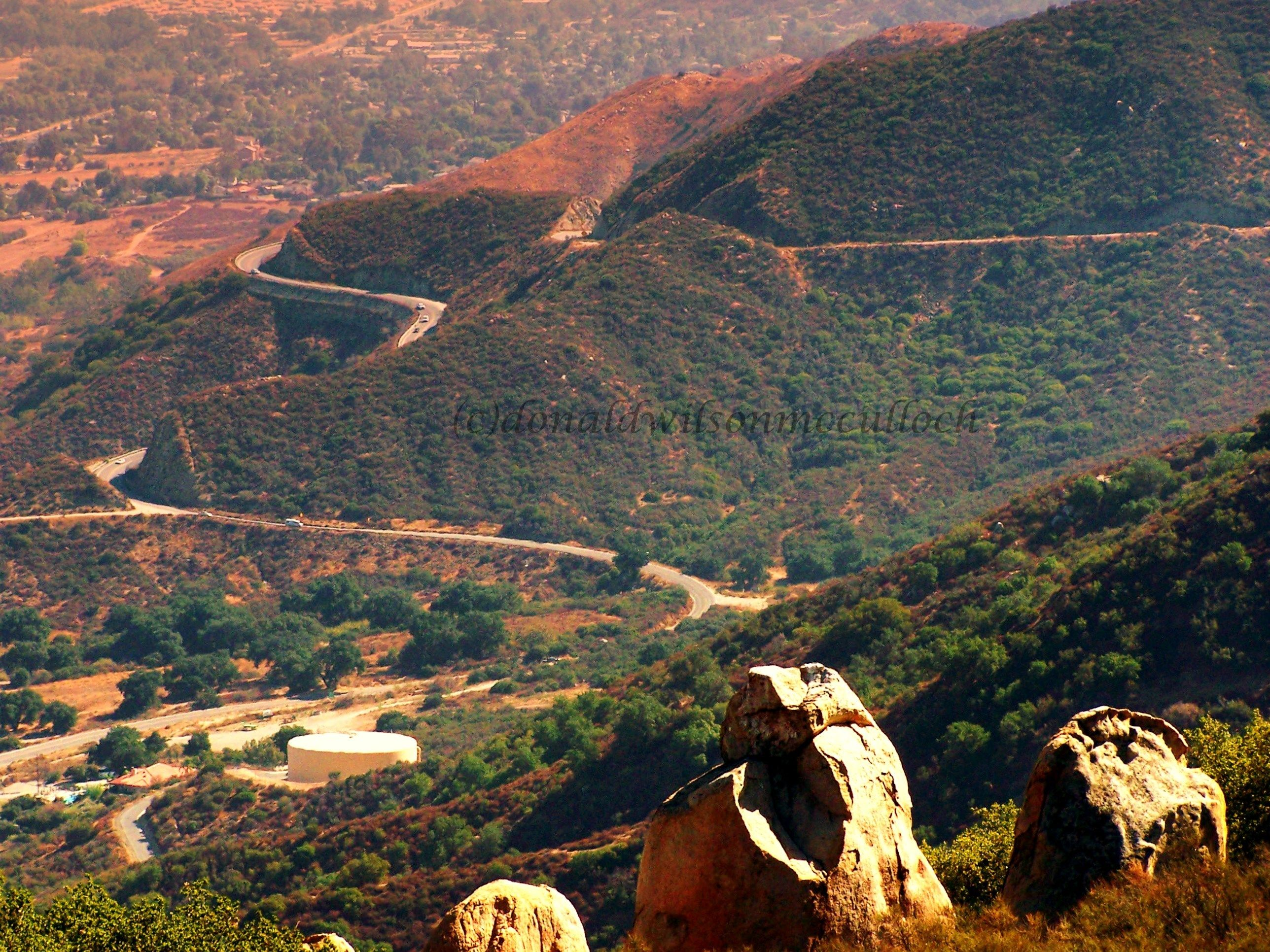 Lake Elsinore, CA | The Ortega Highway (Route 74) is a vital artery