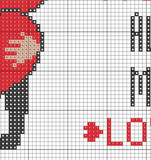 I Give You All My Love Counted Cross stitch par KHANNAandILAN