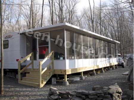 Hard top screen room insulated roof patio enclosure Rv room additions