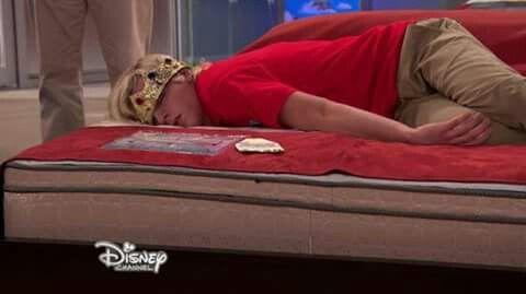 Austin look soo peacful sleeping