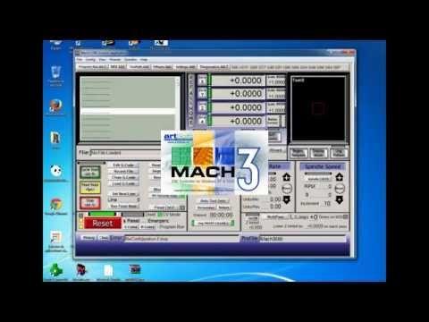 CONFIGURACION DE MACH3 Y PRUEBA DEL MINI ROUTER CNC CASERO