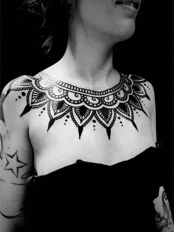 15 Inspirational Chest Tattoos My Style Pinterest Tattoos