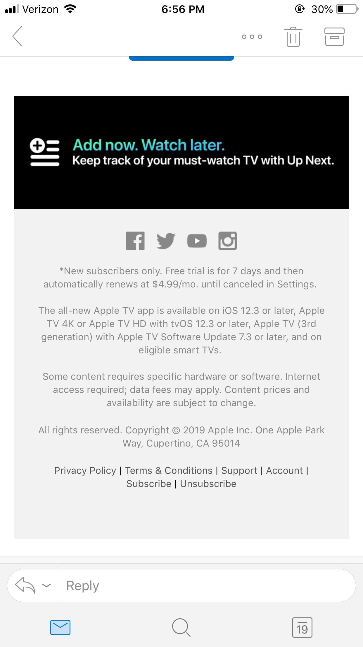 Apple might of accidentally revealed the price of Apple TV