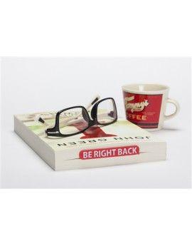 """Marcapáginas con la frase """"Be right back"""""""