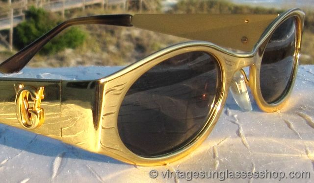 gold versace glasses