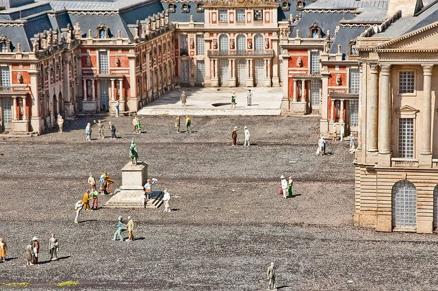 France Miniature France, Street view, Tower