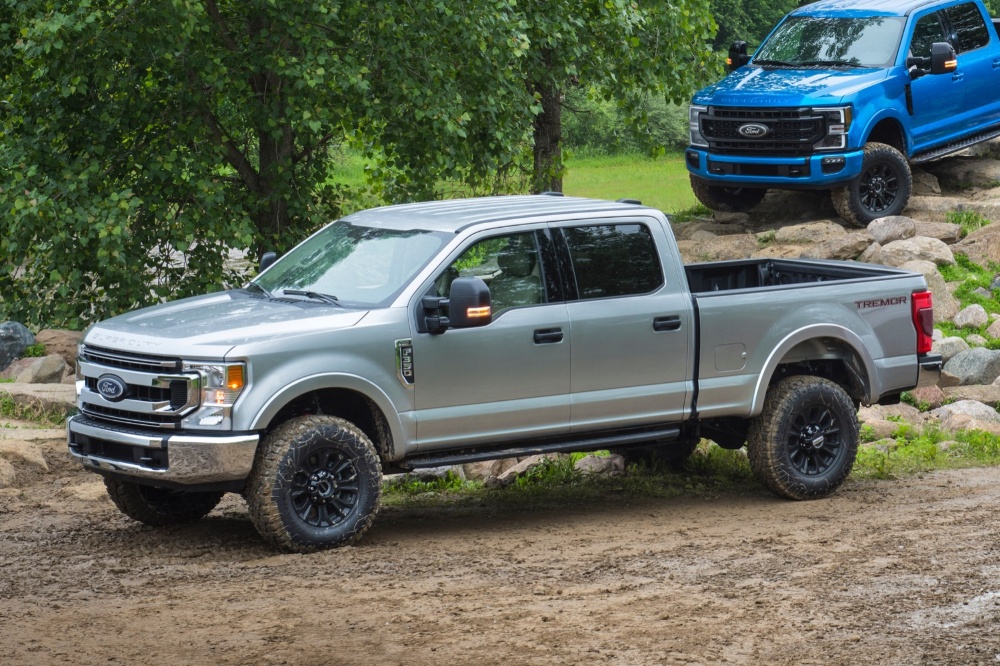 2020 Ford F Series Super Duty Tremor Brings Offroad Prowess Ford F Series New Trucks Tremor