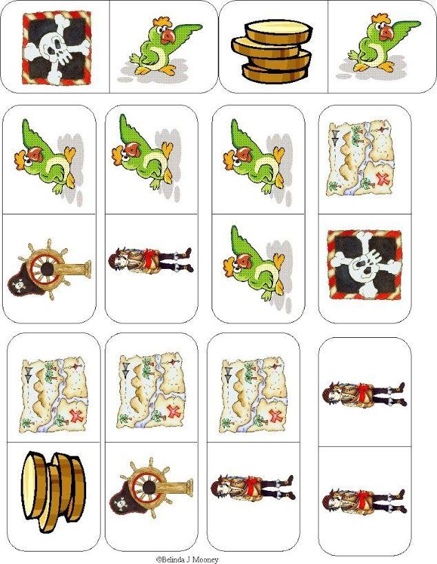 Pingl par christel ponsero sur jeux de dominos - Jeux de jack et les pirates ...